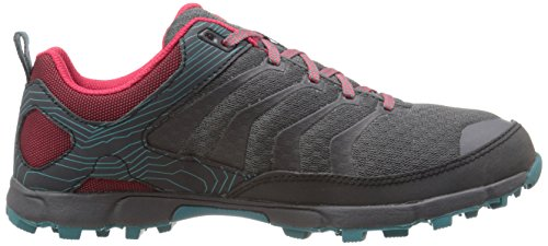 Inov-8 Womens Roclite 295 Chaussure De Trail Running Gris / Berry / Sarcelle