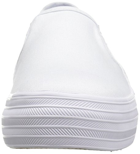 Keds Womens Triple Decker Seasonal Solid Fashion Sneaker White n0D2C4Iyr