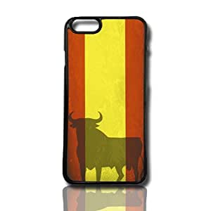 carcasa funda para movil compatible con iphone 4 4g 4s modelo toro cultura spain