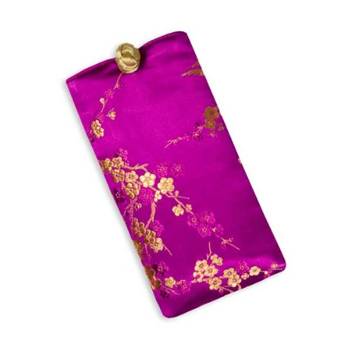 Eyeglass Pouch - Silk Brocade