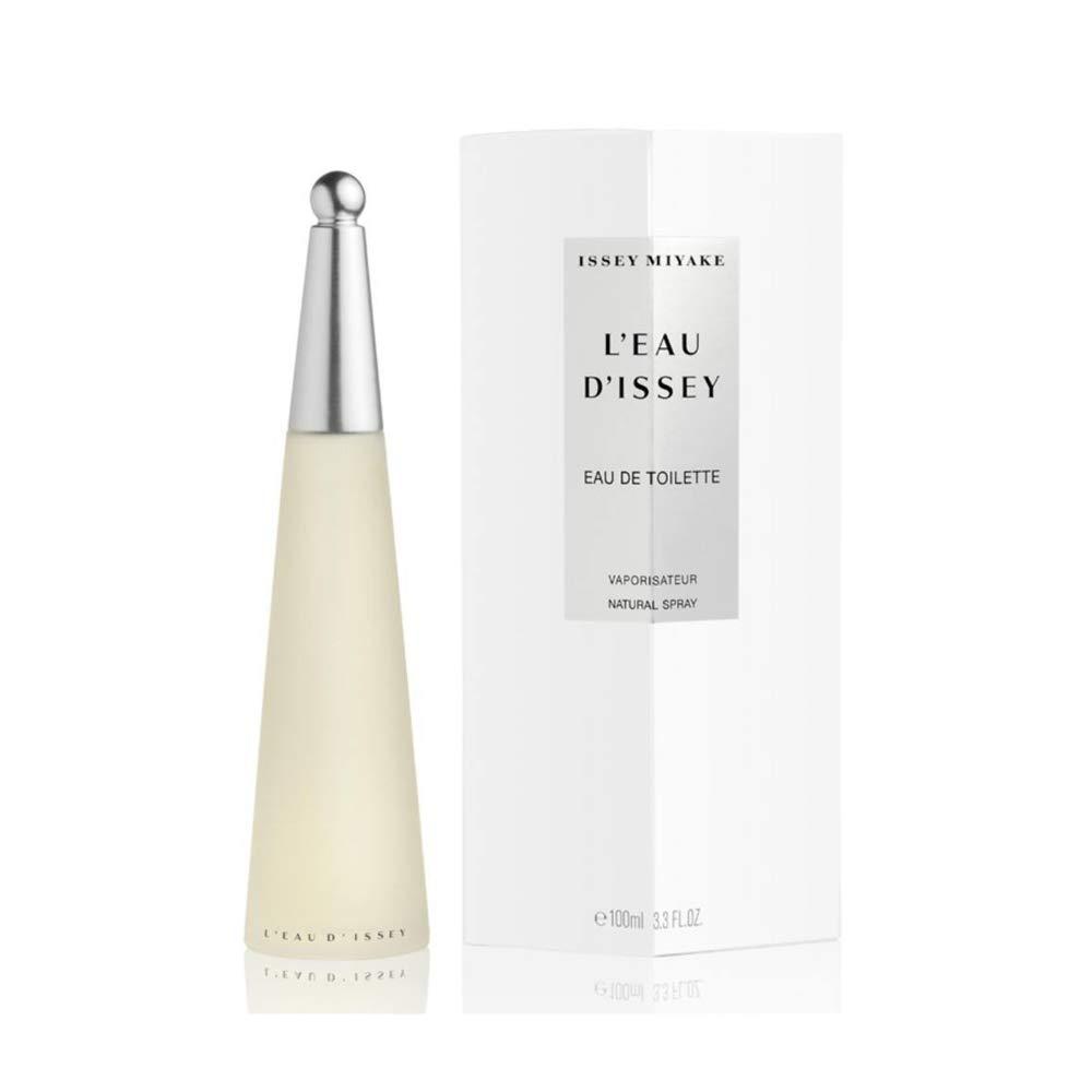 Issey Miyake L'eau D'issey Eau de Toilettes Spray for Women, 3.3 Fluid Ounce