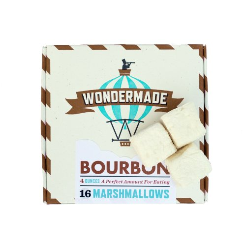 Wondermade Bourbon Gourmet Marshmallows 16 Per Box - Flavored Marshmallows