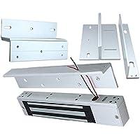 Tool Parts 280kg Z&L Bracket Magnetic Electromagnetic Lock Inward Door Wooden Metal Door