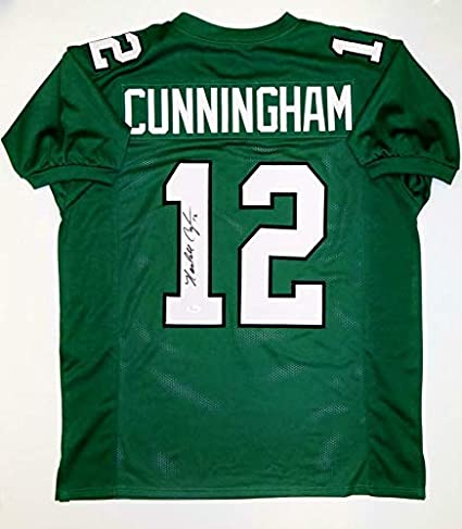 7ab2e32d28b Randall Cunningham Autographed Jersey - Green Pro Style Witnessed Auth -  JSA Certified - Autographed NFL