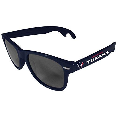 (Siskiyou NFL Houston Texans Beachfarer Bottle Opener Sunglasses, Blue)