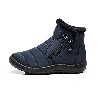 Amazon.com | TQGOLD Womens Waterproof Snow Boots High Top