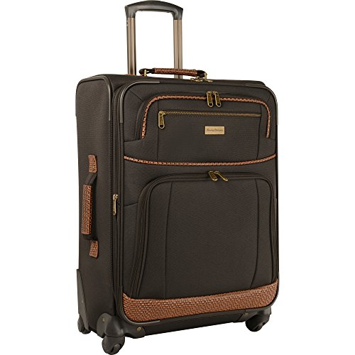 Tommy Bahama Carry On Luggage – 20 Inch Lightweight Expandable Rolling Spinner Luggage with Wheels Travel Suitcase, Dark…