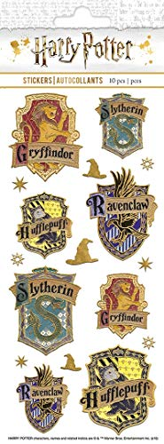 Harry Potter - Paper House Sticky Pix Faux Enamel - Gryffindor Colors House