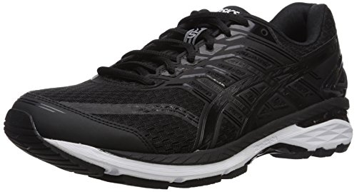 ASICS Mens GT-2000 5 Running Shoe, Black/Onyx/White, 9 4E US
