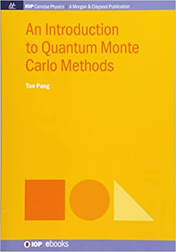 An Introduction to Quantum Monte Carlo Methods (Iop Concise Physics)