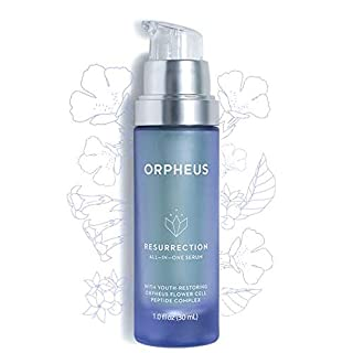 ORPHEUS Resurrection All-In-One Stem Cell Face Serum - With Collagen Stimulating Peptide Complex, High In Hyaluronic Acid, Niacinamide and Vitamin C. 1.0 oz 100% Pure