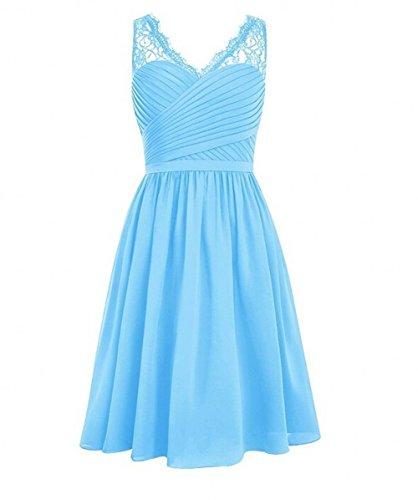 KA Beauty - Vestido - para niña Azul
