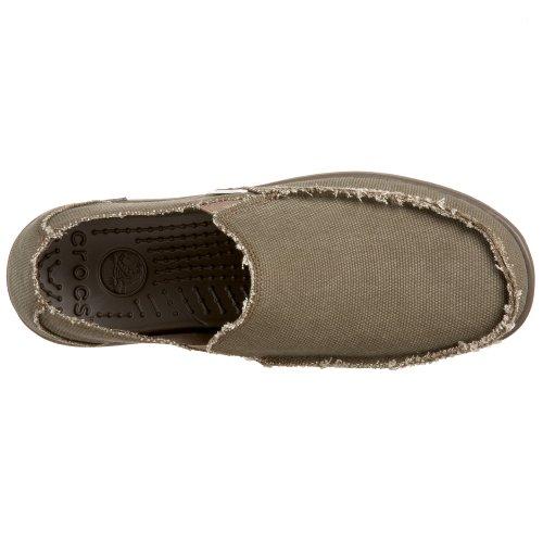 Crocs Mens Santa Cruz Loafer Chocolade / Chocolade