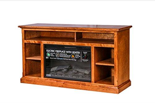 Forest Designs Mission Alder Fireplace Unit 54W x 30H x 18D 54w x 30h x 18d Unfinished Alder