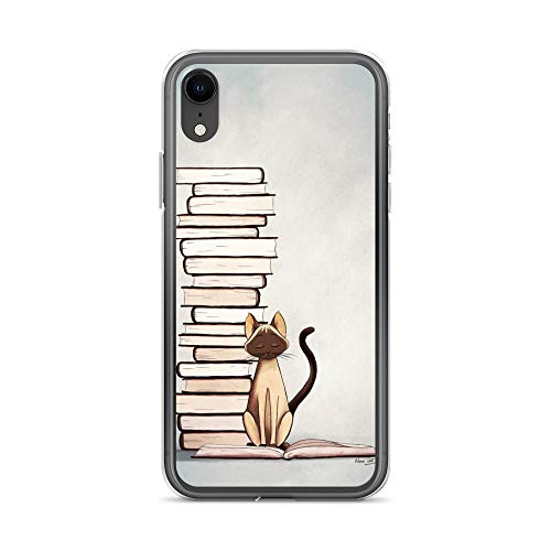 iPhone XR Case Anti-Scratch Creature Animal Transparent Cases Cover The Reader 2 Animals Fauna Crystal Clear