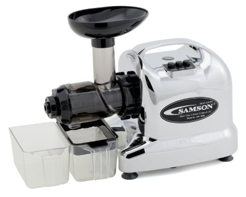 "Samson ""Advanced"" Multi-Purpose Wheatgrass Juicer - Chrome-C"