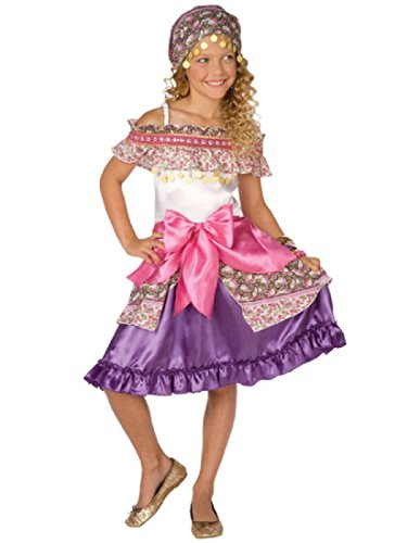 Living Fictions/Palamon Usa Ltd - Girl's Gypsy Costume - Small 4-6