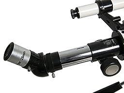 Gskyer Telescope, 60mm AZ Refractor Telescope, German Technology Travel Scope