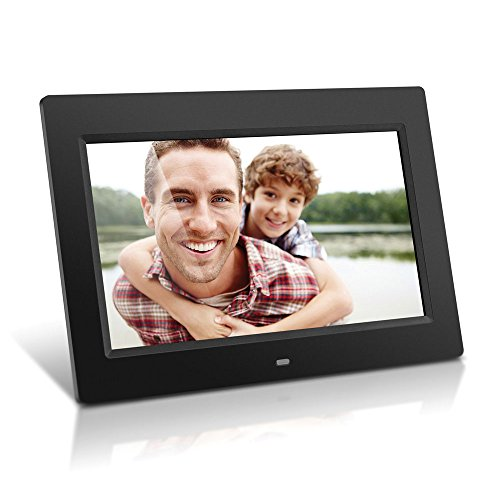 Aluratek (ADMPF310F) 10 Inch Digital Photo Frame - Black