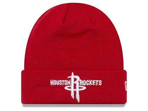 online store 4eae2 37c76 New Era Houston Rockets Red Cuffed Breakaway Beanie Hat - NBA Cuff Knit  Toque Cap