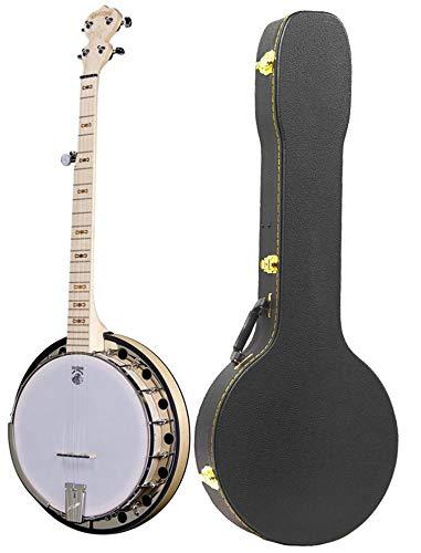 Deering Goodtime 2 Resonator Banjo with Hard Case (Banjo 5 String Resonator)