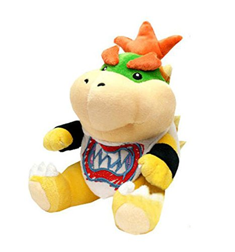 Plush Toy Stuffed Doll 8' (BestKept Stuffed Plush Toy Stuffed Plush Animal Magic Figure Toy - 8'' Super Mario Bros Koopa Bowser Jr Plush 7
