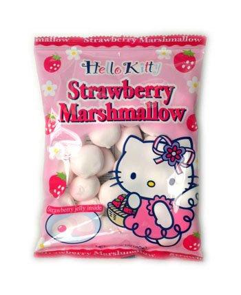 Hello Kitty Strawberry Marsmallow (90 gr) -