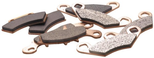 EPI Standard Brake Pads Rear Honda Recon TRX250EX TRX250X 1997-2011 (Brake Rear Standard)