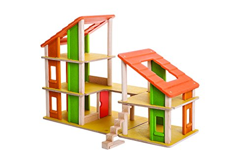 Chalet Dollhouse (Plan Toys Chalet Dollhouse without Furniture)