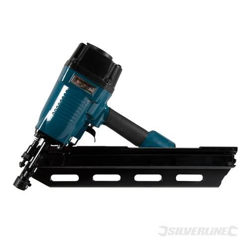 Silverline Air Framing Nailer 90mm 2.87 - 3.33mm dia TS282400