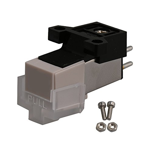 Mxfans White Color Turntable Replacement Needle Record Phono Cartridge Universa by Mxfans (Image #4)