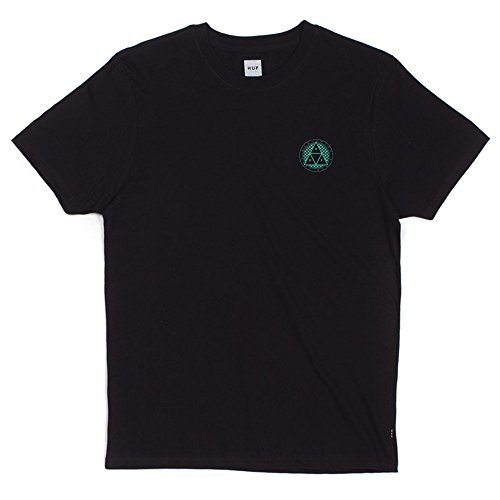 HUF CheckeredTriple Triangle T-Shirt Black