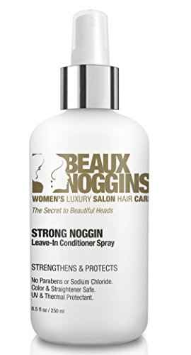 Phyto Sculpting Gel (Beaux Noggins REVOLUTIONARY LEAVE-IN CONDITIONER Creates Shine w/o Weight or Oily Look - Strengthens, Smooths, Detangles - Great For Flat Irons - Safe for Color, Straightened & Chemically Treated Hair)