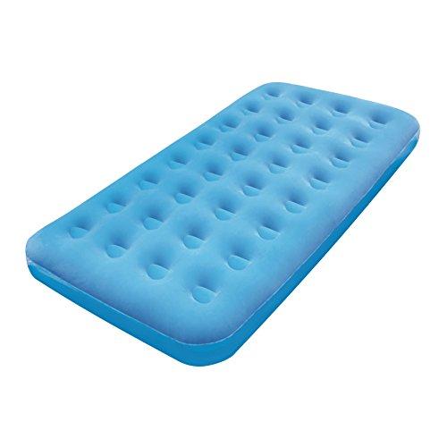 Bestway Fashion-Flocked Twin Air Bed, Blue