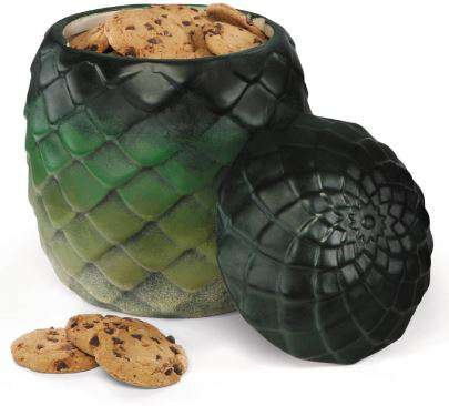 Game of Thrones Dragon Egg Cookie Jar (Egg Cookie Jar)