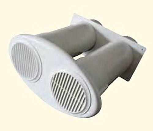 A partir de desagües/Muro Buzón Duo Ø 125, Ø 150 mm Plástico Blanco Válvula antirretorno * 528288: Amazon.es: Grandes electrodomésticos