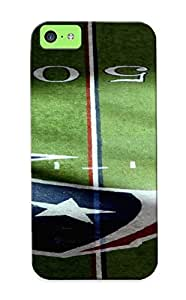 Graceyou Durable Defender Case For Iphone 5c Tpu Cover(houston Texans Nfl Football) Best Gift Choice