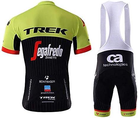 WOLFIRE WF Traje de Ciclismo para Hombre de Equipos. Culotte y Maillot. con 5D Gel Pad. para MTB, Spinning, Bicicleta de Carretera (T France, S): Amazon.es: Deportes y aire libre
