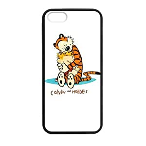 Calvin and Hobbes Love Each Other Case cover for iPhone 5 5s protective Durable black case