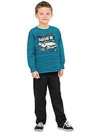 [Patrocinado] Little Boy sudadera Gráfico y Sweatpants Outfit