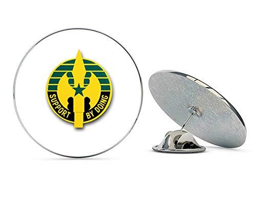 Veteran Pins US Army 220th Military Police Brigade Unit Crest Metal 0.75
