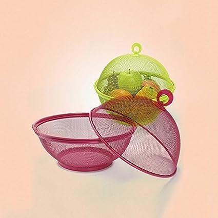 Fliegenschutz Obstkorb Aufbewahrungskörbe mit Abdeckung für die Lagerung