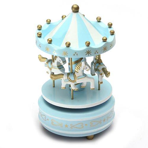 Light Blue Music Box - 4