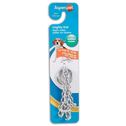 Doskocil Aspen Pet Products Medium Weight Collar, 14″ x 2.5 mm