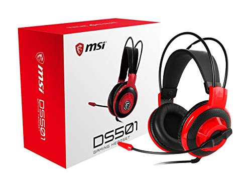 MSI DS501 Stereo Gaming Headset for PC