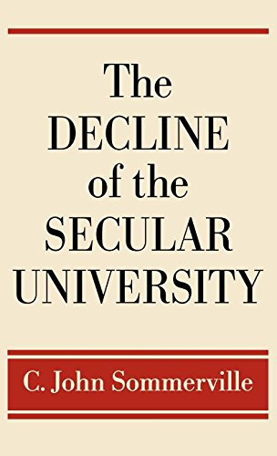 The Decline of the Secular University