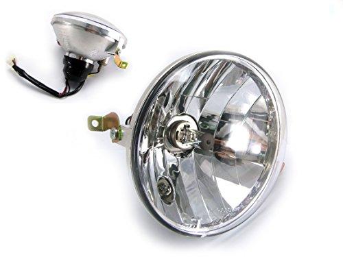 - High Quality Vespa Piaggio PX 125 / 150 / 200 Headlight Including Halogen Bulb - Emarked