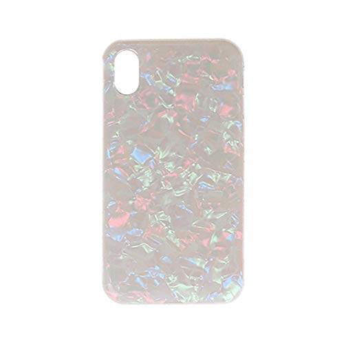 Price comparison product image Lovewe iPhone XS / XS MAX Cover, Glitter Shell Flamingo Phone Case Cartoon Soft For iPhone XS 5.8inch, iPhone XS Max 6.5inch, Shockproof, Bling Glitter (Multicolor,  XS 5.8inch)