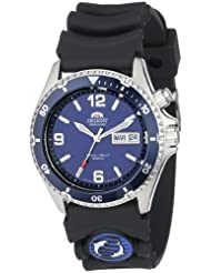 Orient Mens CEM65005D Blue Mako Automatic Rubber Strap Dive Watch