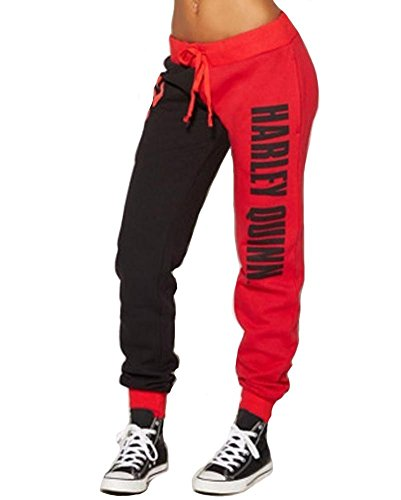 O-will Women Cosplay Costumes Casual Joggers Trousers Sport Gym Pants